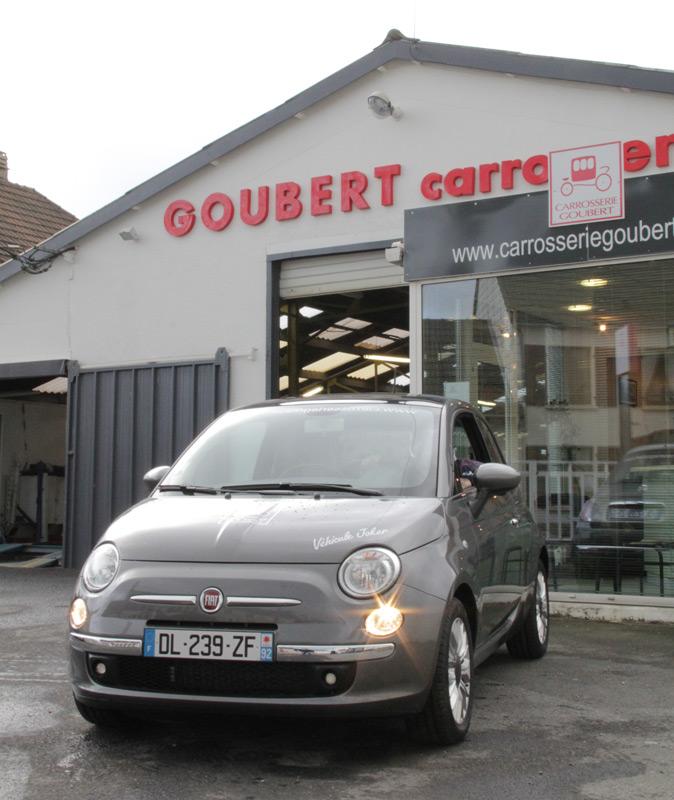 goubert carrosserie et peinture automobile tourlaville france t l 62728. Black Bedroom Furniture Sets. Home Design Ideas