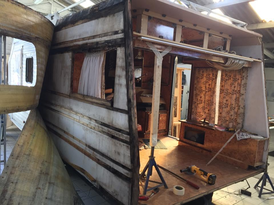Impressionnant, Non ? Carrosserie Caravane en Normandie