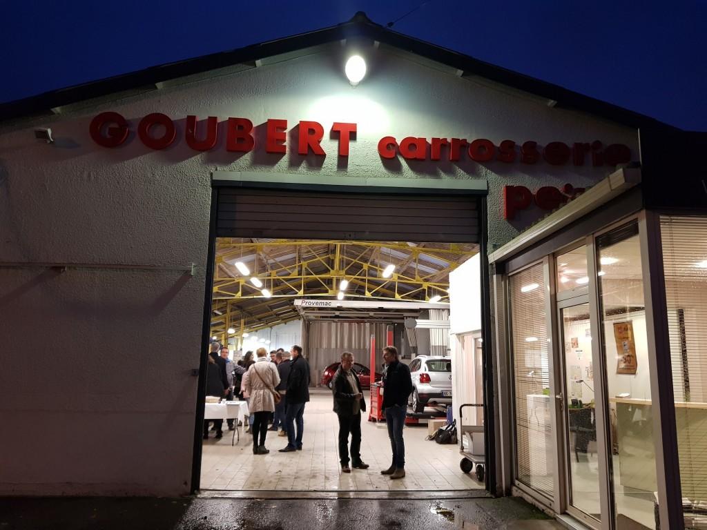 Visite de l'atelier de la Carrosserie Goubert