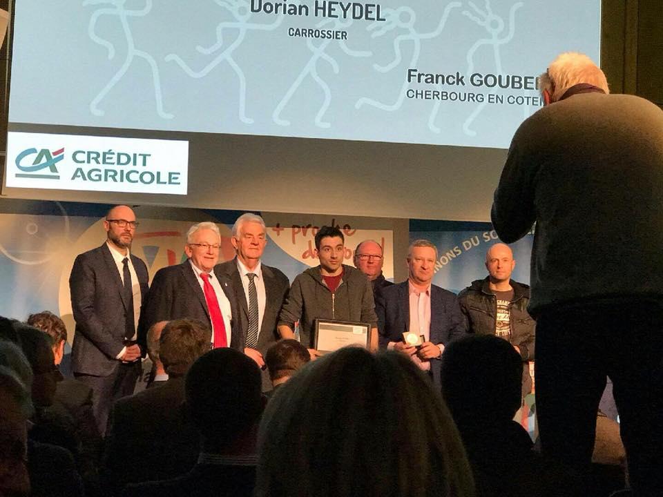 Décembre 2017 : Lauréats Manchois
